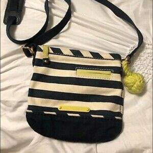 Juicy Couture stripe crossbody